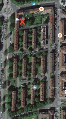 sykkelvask.kart